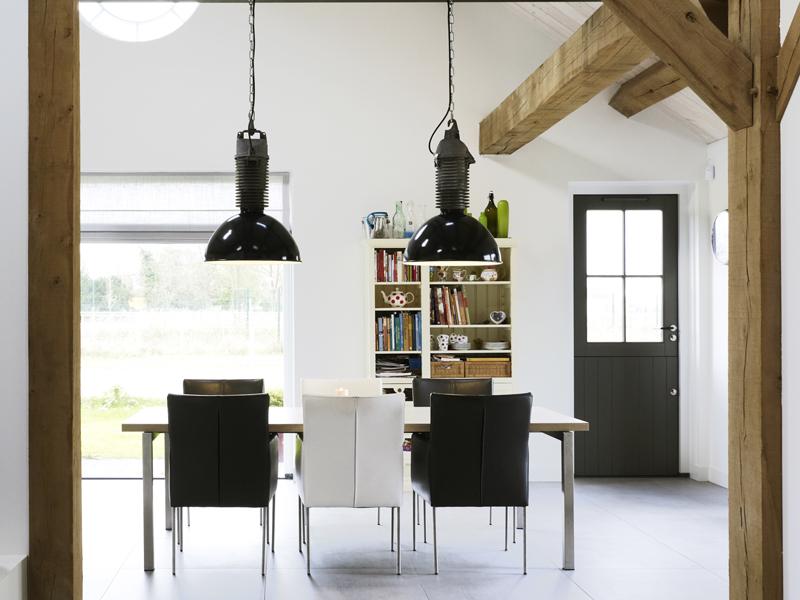 Maatwerk Greeploze Keuken : Houten keuken Industriële Keuken Keuken ...
