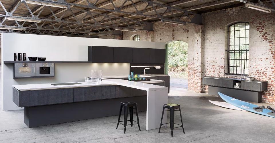 Greeploze Keuken Zelf Maken : Houten keuken Industri?le Keuken Keuken oud Eiken